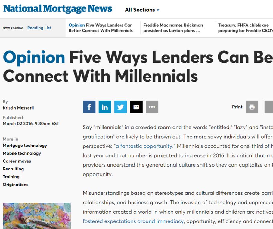 Millennial Resources | National MI